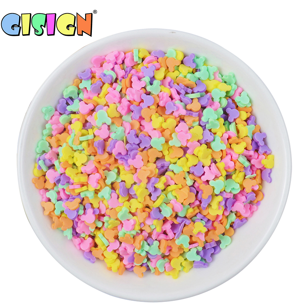 20g Fake Sprinkles Addition For Slime Supplies Charms Filler For  Lizun Fluffy Slime Bead DIY Toys Accessories Antistress