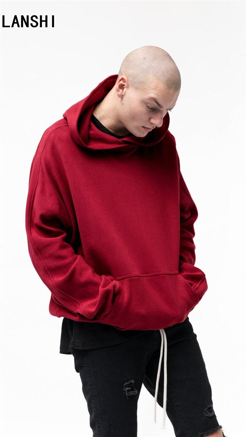 LANSHI 2017 Original Design Spring Autumn Brand red pullover Men ...