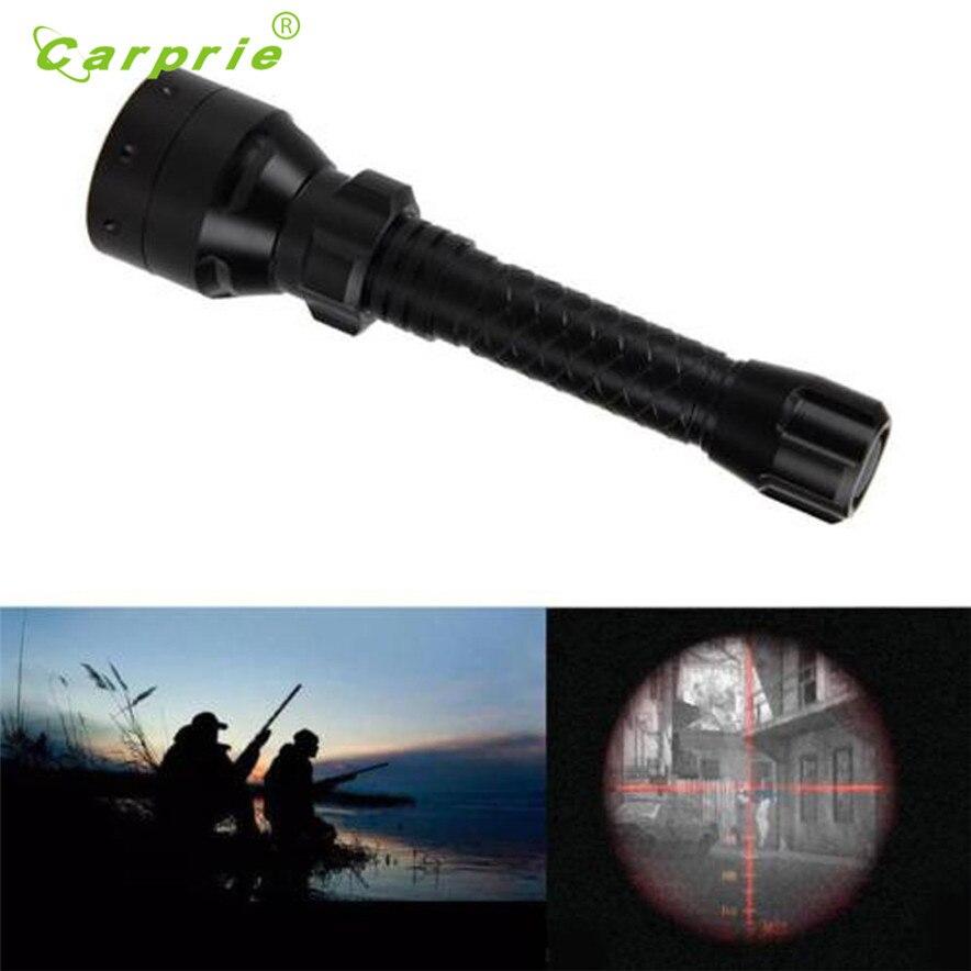 carprie Flashlight Torch Long Range Infrared 10W IR 850nm T50 LED Hunting Light Night Vision Torch 18650 l70424 drop ship
