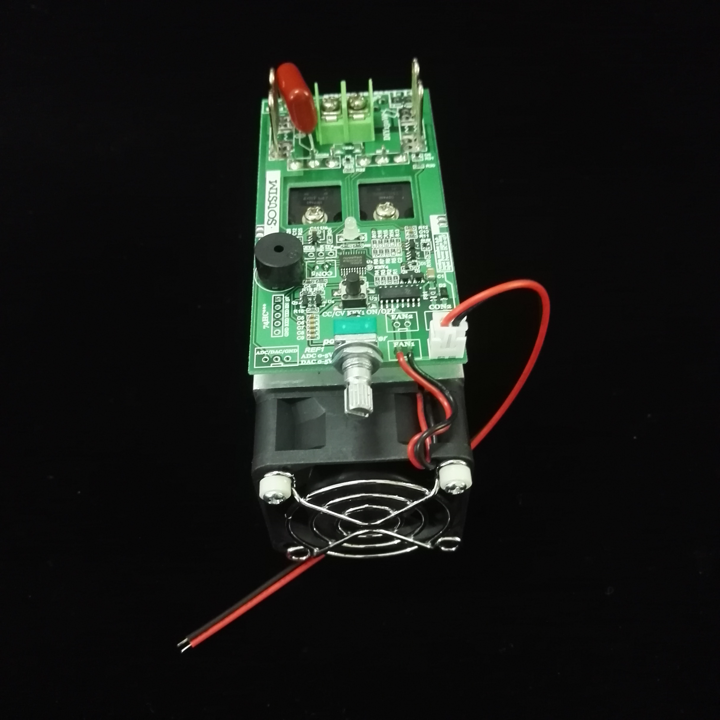 Adjustable Load Electronic Load Constant Voltage Constant Current Load Resistance Substitutes DIY150W Standard Version electronic load constant voltage constant current constant power module 485 communication control
