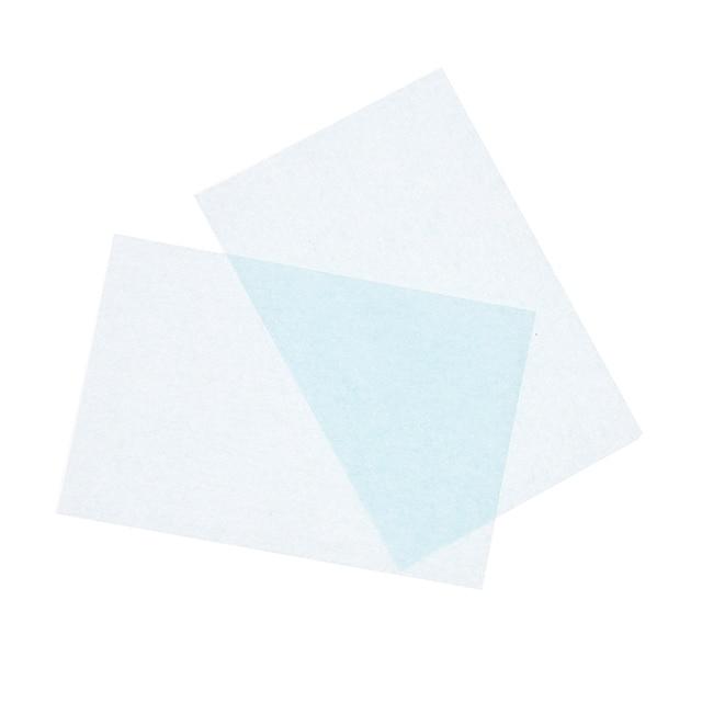 50pcs/Box Facial Oil Blotting Sheets Oil Absorbing Papers Oil Control Face Skin Makeup Care Tool 10c x 7.2cm 3