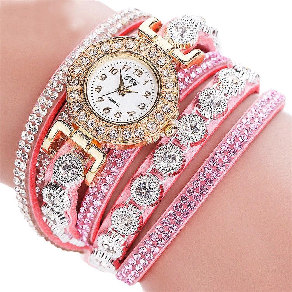 HTB1veLHyuuSBuNjSsplq6ze8pXa0 - Women's Luxury Fashion Analog Quartz Rhinestone Bracelet Watch