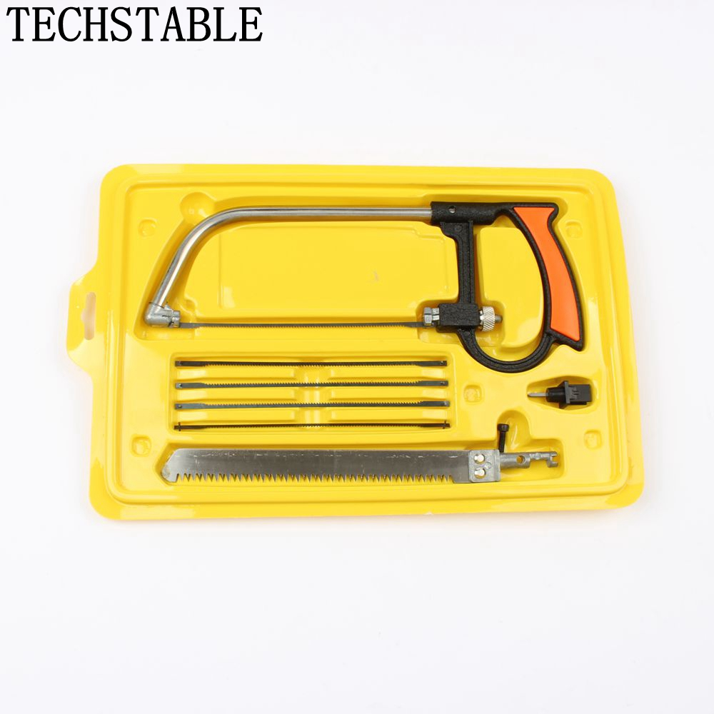 Multi - functional Household Hacksaw Manual Hardware Tools Set Woodworking Saw For Cutting Wood/Aluminum/Glass LUBAN