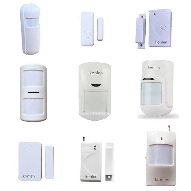 Wireless Infrared Pir Motion Detector Window Door Sensor Entry Alarm