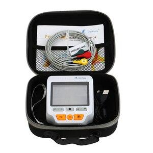Image 5 - Пульсометр Heal Force Prince 180D, медицинский портативный электрокардиограф для измерения ЭКГ, ЭКГ, сердечного ритма, 3 канала, провод 25 шт.