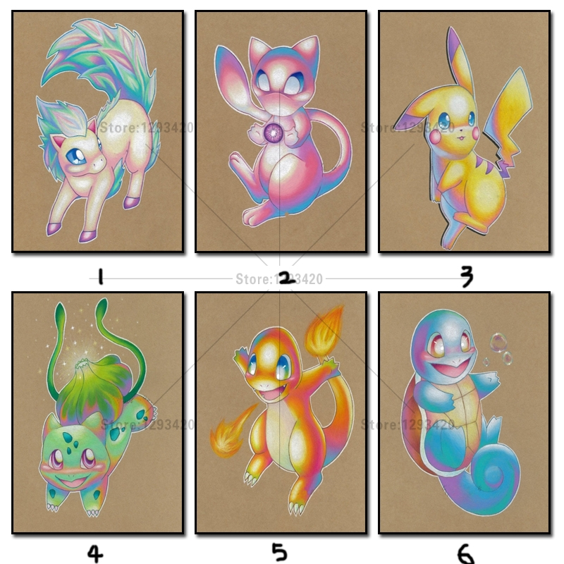 5D Diy Diamond painting pokemon cross stitch crystal icon diamond sets decorative DMC diamond embroidery passaros