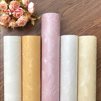 3M New Waterproof Floral Wall Stickers Vinyl Removable Peel And Stick Self Adhesive Wallpaper For Bedroom