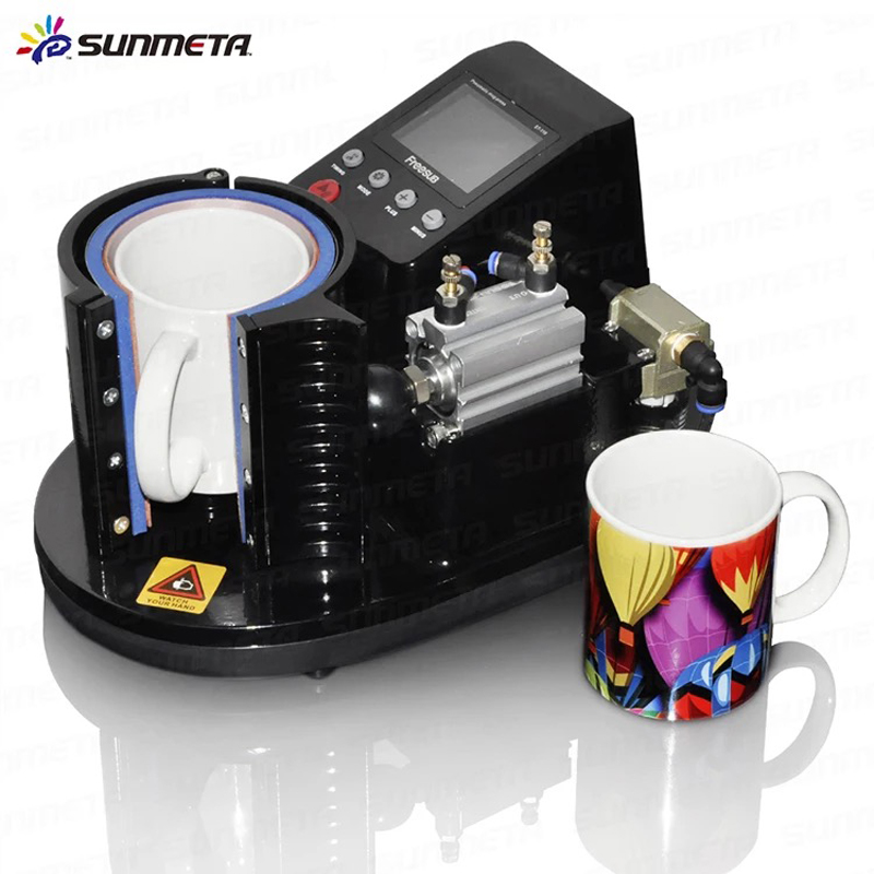 2017 NEW Mini Pneumatic Vertical Multi-function Heat Transfer Press Thermal Printing Mug Cup Machine ST110 3 5inch tft lcd cctv tester st3000s st4000s professional security installation tool surveillance camera video test ptz tester