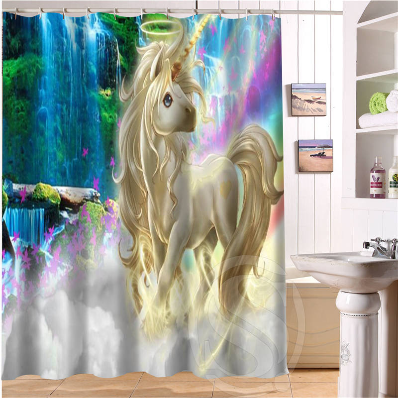 Free Shipping Amazing scenery Custom Shower Curtain MORE SIZE Waterproof Fabric Shower Curtain for Bathroom SQ0520-S27