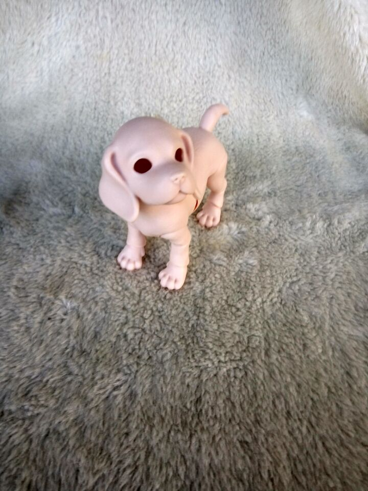 Luodoll FREE SHIPPING! FREE pet dog puppy 1/8 bjd / sd doll toy birthday gift