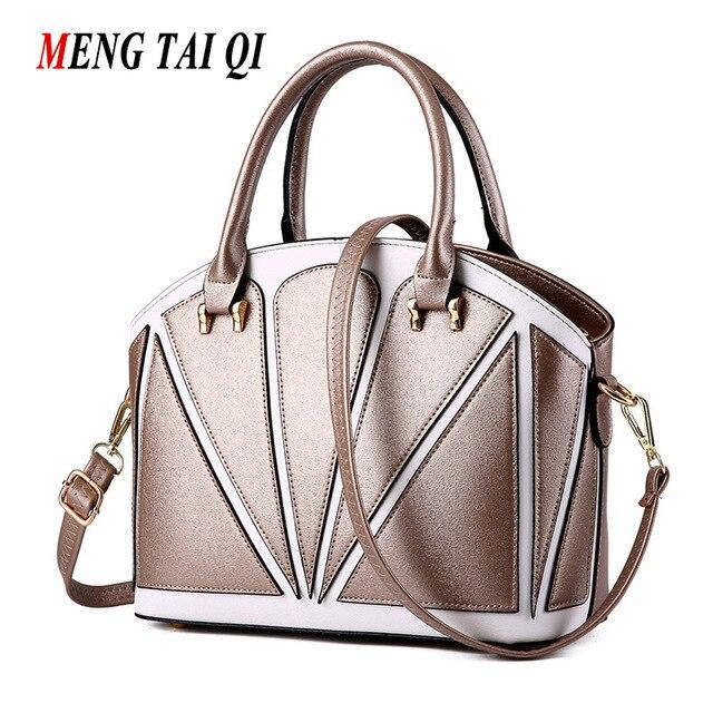Women Bag 2017 Handbag Leather Women Messenger Bags Bolsa Feminina Crossbody Shoulder Bag Ladies Totes Fashion Shell Bag Brand 3