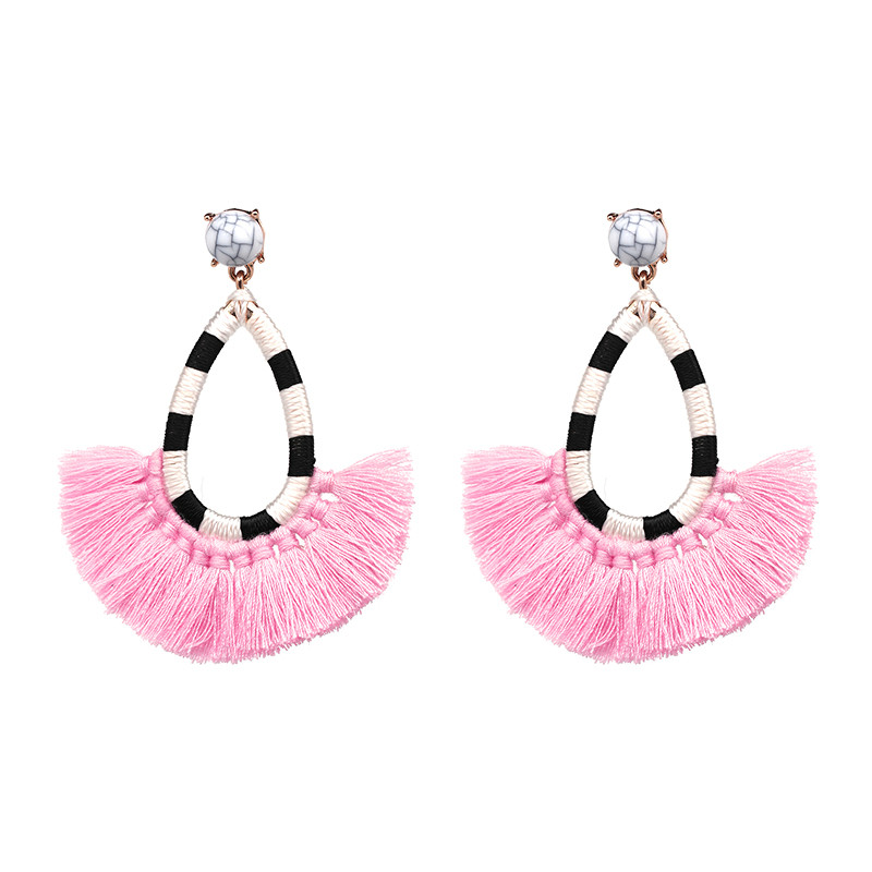 New Fashion Jewelry Etnik Bohemia Multi-warna Tassel Dangle Drop - Perhiasan fesyen - Foto 5