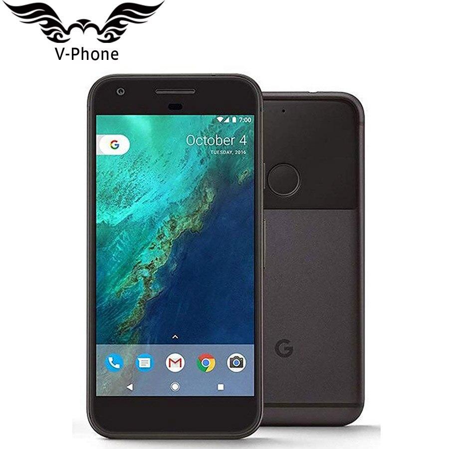 Оригинальная версия США Google Pixel XL 4G B Оперативная память 32 ГБ 128 ГБ Встроенная память 4G LTE Android мобильного телефона 5,5 ''четырехъядерный Snapdragon о...