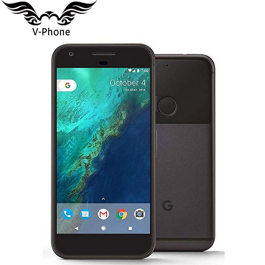 Original US Version Google Pixel XL 4 GB RAM 32 GB 128 GB ROM 4G LTE téléphone mobile android 5.5'' snapdragon Quad Core D'empreintes Digitales