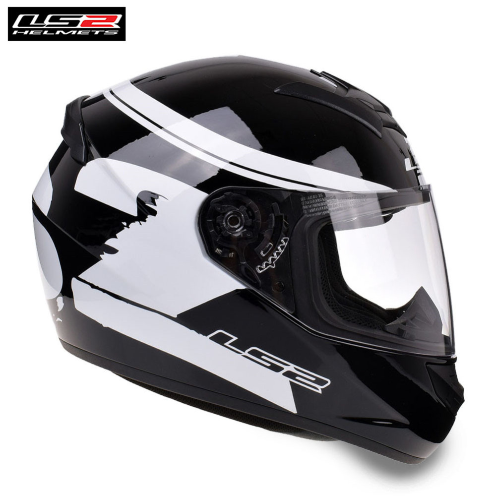 LS2 Racing Motorcycle Helmet Full Face Capacete Casco Casque Moto Women Kids Helmets Helm Kask Caschi For Honda Motorbike original ls2 ff353 full face motorcycle helmet high quality abs moto casque ls2 rapid street racing helmets ece approved