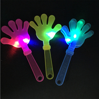 20pcs Lot Flash Led Luminescent Hands Clap Party Use Hot Sale Led Light Hand Applaud 2016