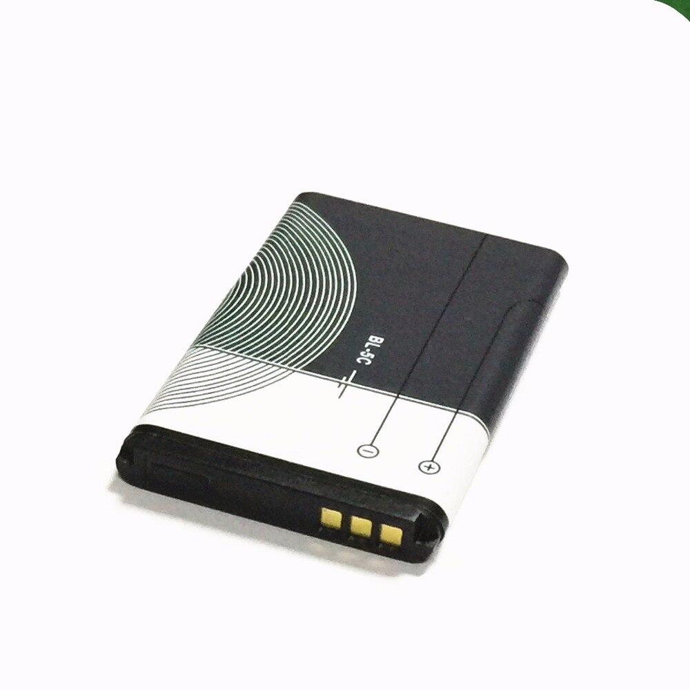 1020 мАч BL5C BL-5C BL 5C Батарея для Nokia 1112 1208 1600 1100 1101 N70 N71 N72 N91 E60 x2