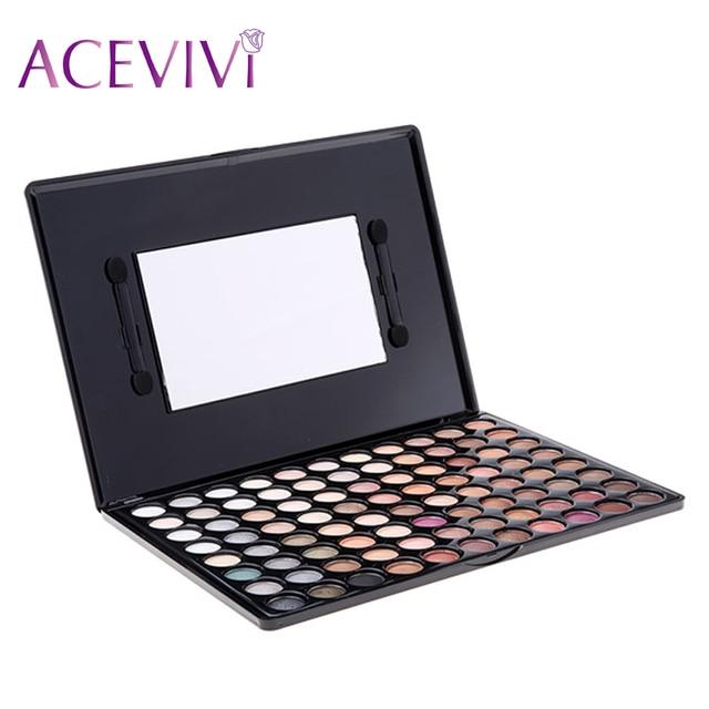 ACEVIVI Women 88 Colors Smoky Eye shadow Palette New Fashion Matte Nake Eyeshadow Palette
