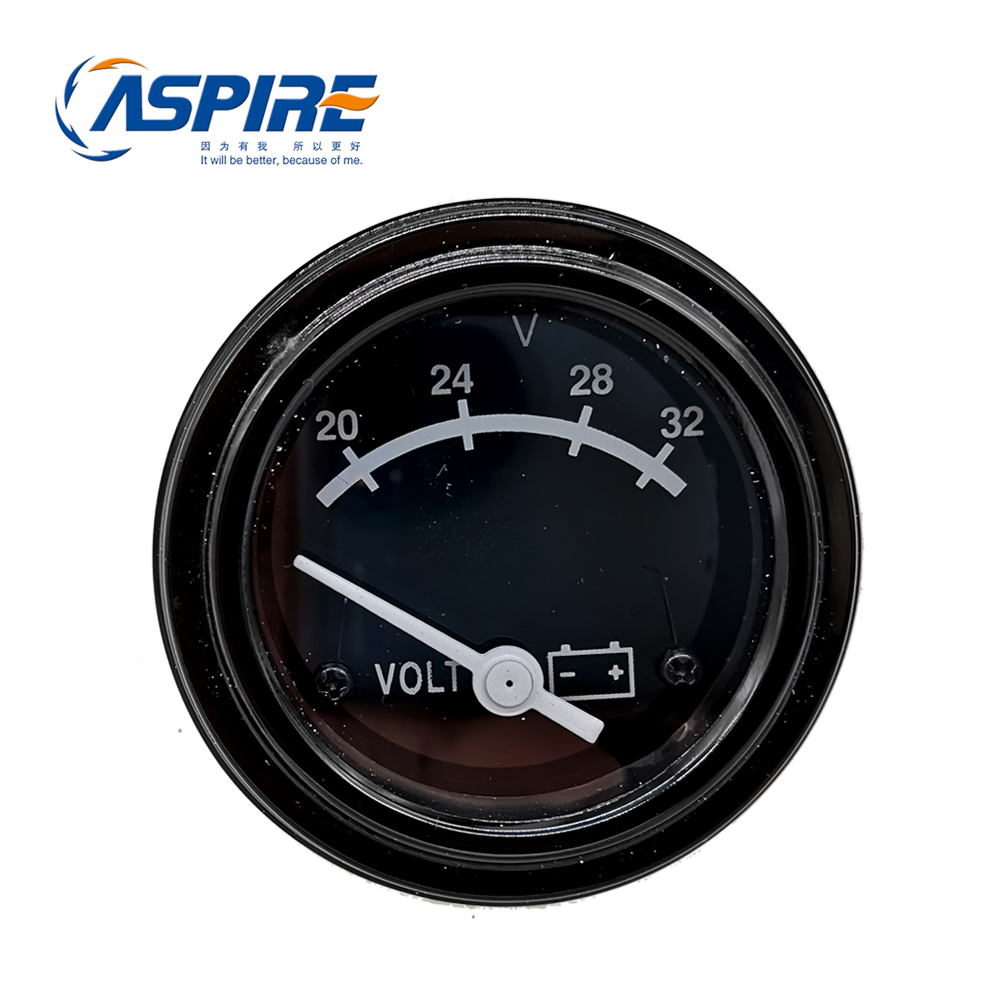 Voltage Gauge 30-15235 Function Of A Round Voltmeter 3015235 For Diesel GeneratorVoltage Gauge 30-15235 Function Of A Round Voltmeter 3015235 For Diesel Generator