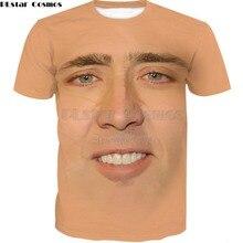 PLstar Cosmos Drop ship 2018 summer Mens Womens T shirt The Giant Blown Up Face Of