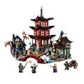 Строительные блоки  2150 шт.  10427 из Stiix храма Airjitzu ninjagoo Thunder Swordsman  70751