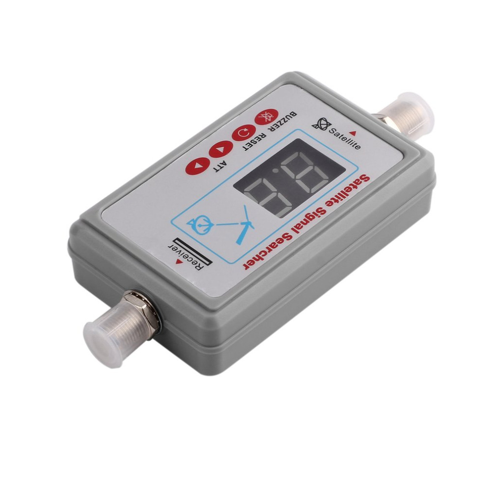 Mini Portable Digital Antenna Satellite Signal Finder LCD Buzzer JS-SF05 TV Satellite Receiver Meter TV Signal Detector Tool