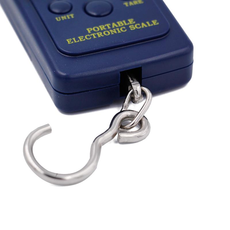 40 кг цифровые весы 40 кг/10 г электронный портативный цифровой вес рыболовный крючок висит чемодан