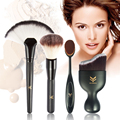 4pcs/set Makeup Brushes Set EyeShadow Eyebrow Brush Foundation Power Face Oval Cream Brushes Flexible Makeup Tooth Brushes