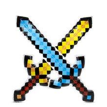 833943a9421 Nuevo globo de alta calidad espadas Minecraft perfecto espadas diamante  globos espada acción fiesta juguete Navidad