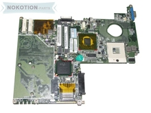 laptop motherboard for toshiba satellite u300 u305 A000017480 DABU1MMB6A0 gm943 ddr2
