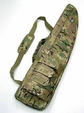 911 Tactical 100cm Wide Carry Case Rifle Gun Foam Dark Earth Bag With Sling Slip 4 color