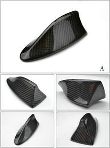 Image 2 - אוטומטי סיבי פחמן כריש סנפיר אווירי גג סגנון אוטומטי שונה רכב אנטנות רכב סטיילינג אנטנה