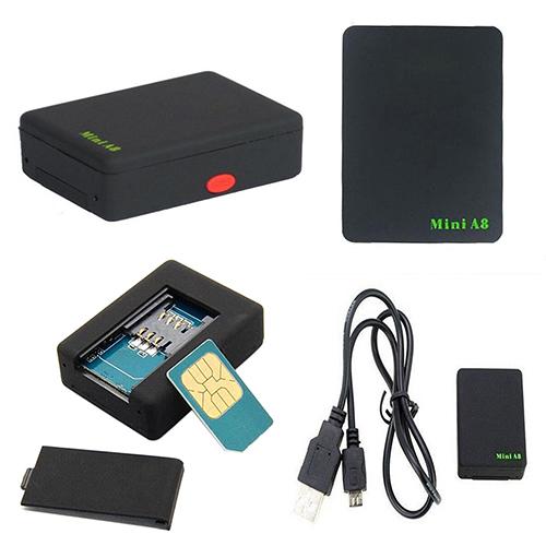 Mini Real Time Global Locator Car Kid Pet Tracker GSM/GPRS/GPS Tracking Device