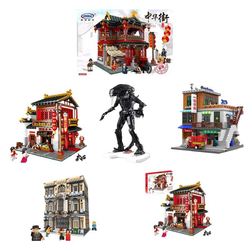 XingBao 01001 01002 01004 01005 01013 City Series Block Genuine Creative Building 04001 Movie Series The Robot Model Diy Bricks кисть kraftool 1 01013 70