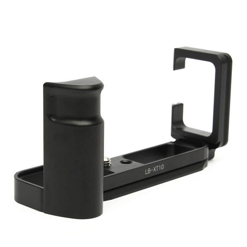 Prix pour FOTGA Pro Vertical L Type Support Trépied Plateau Rapide Base Grip Poignée Pour Fujifilm pour Fuji XT10 X-T10 Caméra DSLR