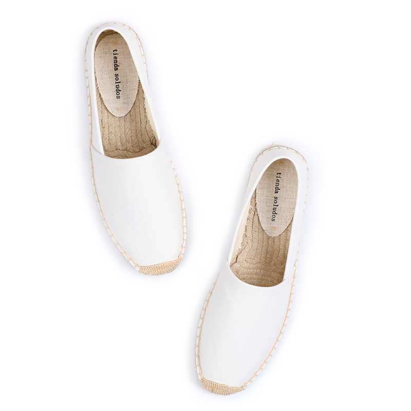Shoes Woman 2019 Direct Selling Top Fashion Canvas Ballet Flats Solid Zapatillas Mujer Espadrilles Sapatos Tienda Soludos