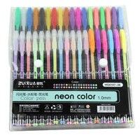 ZUIXUAN 36 Gel Stifte set Farbe gel stifte Glitter Metallic stifte Gute geschenk Für Färbung  Kinder  Skizzieren  malerei  Zeichnung