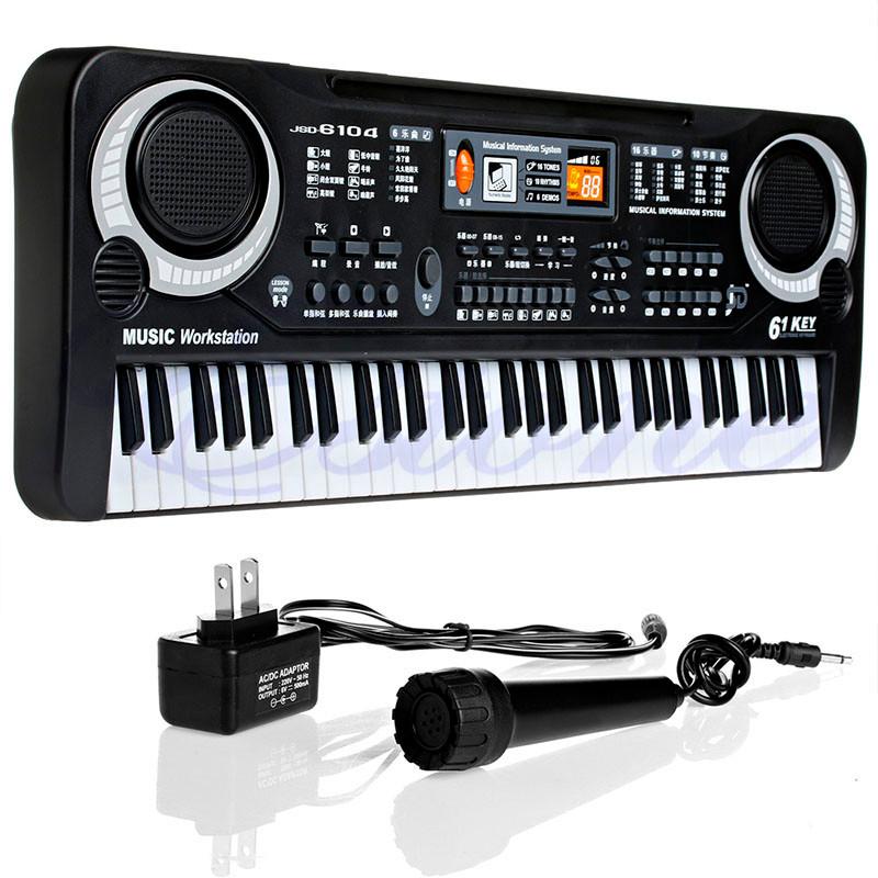 61-Keys-Digital-Music-Electronic-Keyboard-Key-Board-Gift-Electric-Piano-Gift-New