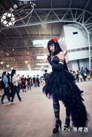 Puella Magi Madoka Magica Homura Akemi Black Devil Version Luxury Dress Halloween Demon Cosplay Costume Evil Uniform Custom made