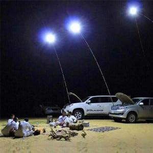 Телескопический светодиодный светильник COB для рыбалки, кемпинга, туризма, барбекю, микросхема ic, садовый Аварийный Рабочий светильник, точ...