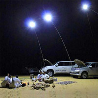 Telescopic COB Rod LED Fishing Outdoor Camping Lantern Light Lamp Hiking BBQ ic chip garden Emergency