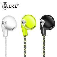 Earphone QKZ S11 100% Original 3.5mm In-Ear Earbuds Super Bass Sport Running Headset Style Stereo Earphones