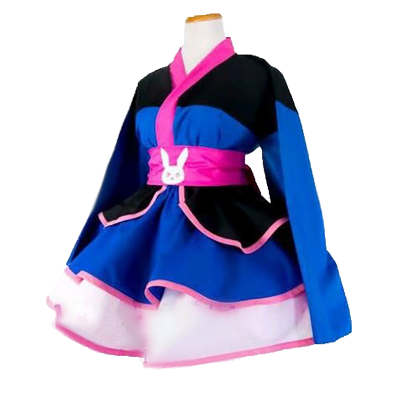 DVA Cosplay D. VA jeu OW Costume fille magique D. va Cosplay Dva Costume femmes kimono