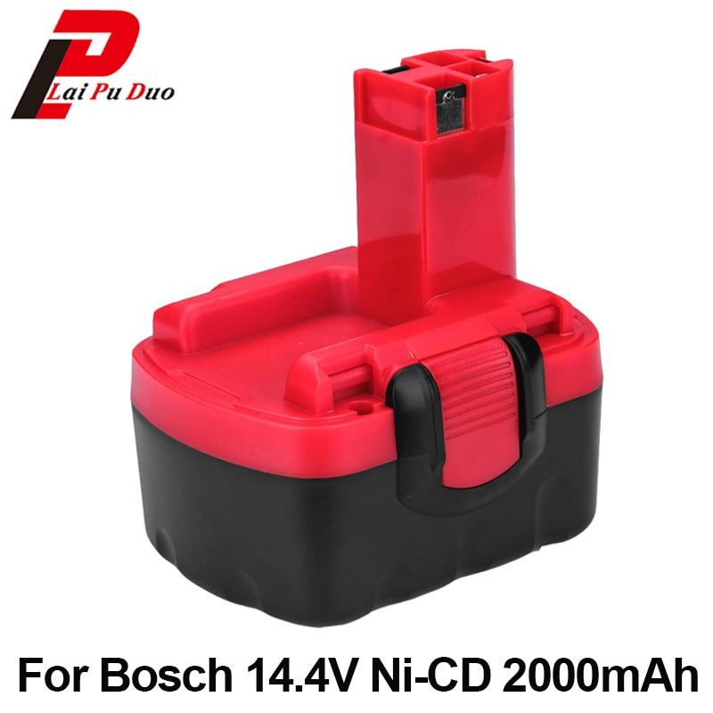 14.4V Ni-CD 2.0Ah For Bosch Replacement Tool Battery BAT038 2 607 335 711 BAT040 2 607 335 678 PSR 1-14 BAT140 BAT159 BAT041