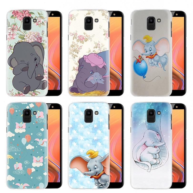 Animation Dumbo Hard PC Case Cover for Samsung Galaxy S10 S10e 5G S9 S8 S7 S6 Edge Plus M30 A40S M20 M10 Note 8 9 Coque Fundas