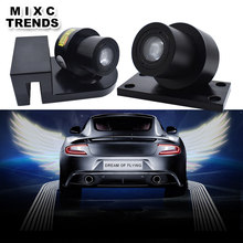 2Pcs Ghost Shadow Light LED Welcome Lamp Car Angel Wings lights Logo Laser Projector Car LED Door Warning Light for BMW Honda(China)