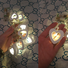 Heart Shaped String Fairy Lights