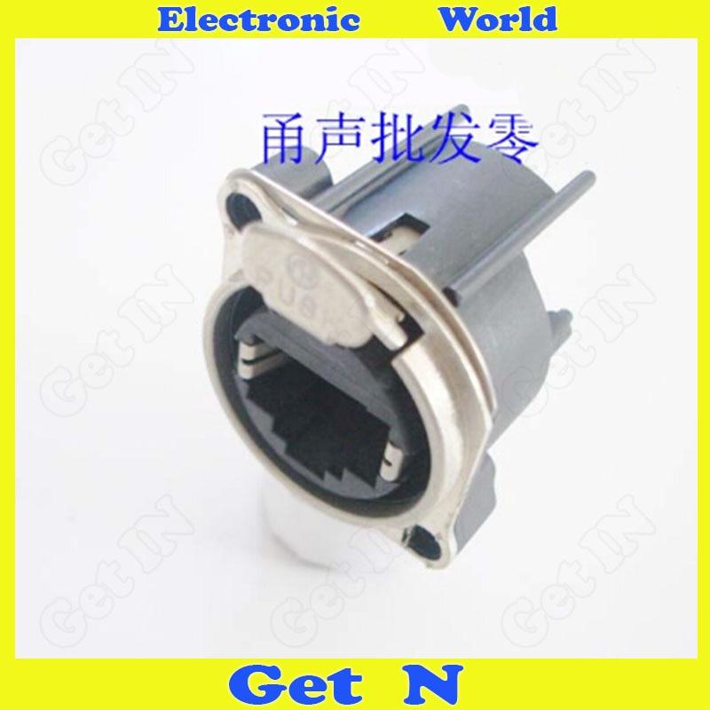 все цены на 5pcs NE8FBH Connector Network RJ45 PCB Horizontal Mounting Jack Network Module Plug онлайн