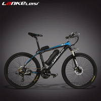 LANKELEISI T8 240W/36V, 21 Speeds, 26 Inches, Lithium Battery Electric Bicycle, Disc Brake, Mountain Bike, Aluminum Alloy Frame.
