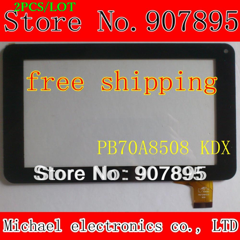2pcS 7inch capacitive touch screen panel  Glass ZHC-059B 86V 86vs zhc-0598 ZHC 0598 ZHC-059B-PET-JY PB70A8508 Y7Y007(86V) 10pcs black 10 1 inch tablet touch for woxter qx 105 qx105 capacitance screen outside zhc 0364a zhc 0364b